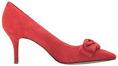 Nine West Womens Kit Pointy Toe Suede Pumps Rot