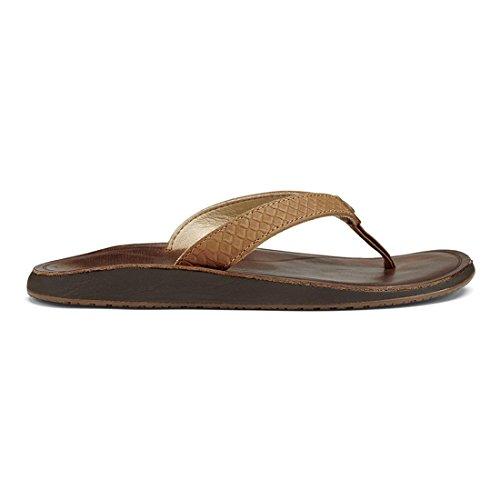Pantofole Olukai Pua - Sahara / Donna Di Fagioli