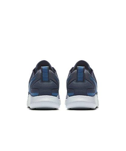 Uomo Nike Scarpe Da Corsa Lunarsolo Cielo Blu Scuro / Bianco-tuono Blu