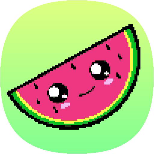 Amazon Com Kawaii Anime Color By Number Pixel Art Kawaii Anime