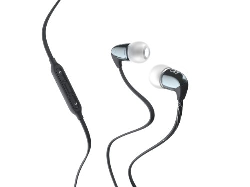 Logitech Ultimate Ears 500vi Noise-Isolating Headset - Dark Silver (Discontinued by Manufacturer) (Ultimate Foam Ears)