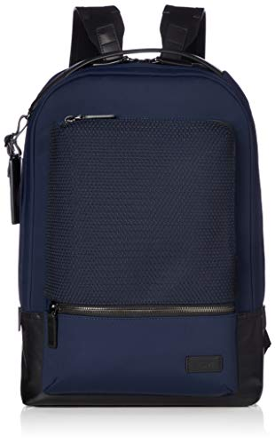 (TUMI - Harrison Bates Laptop Backpack - 14 Inch Computer Bag for Men and Women - Navy Mesh  )