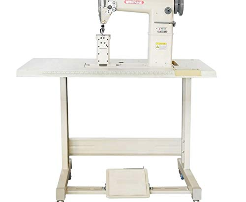 Yamata FY810 Sewing Lockstitch,Reverse,Post Bed,Roller feed +Table+Motor+Assembly ()