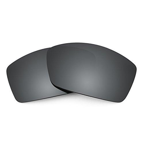 Verres de rechange pour Costa Corbina — Plusieurs options Noir Chrome MirrorShield® - Polarisés