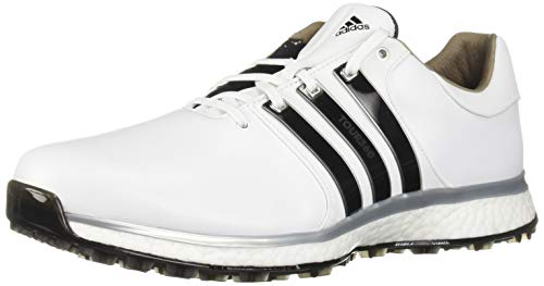 adidas Men's TOUR360 XT Spikeless Golf Shoe FTWR White/core Black/Silver Metallic 13 M US