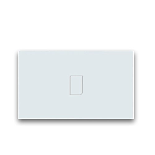 Broadlink TC2 RF Touch Switch Smart Home Touch Light Switch Wireless Remote Control Work with Broadlink RM PRO Mobilephone App Control for Smart Home Automation (1 Gang TC2 Switch)