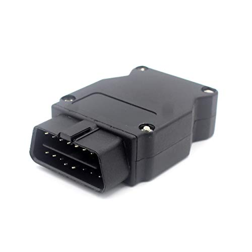 Lalomo Ethernet RJ45 to OBD2 16 Pin Connector Adapter for All F Series and Late E Series E-SYS ICOM Coding Reader Diagnostic Tools