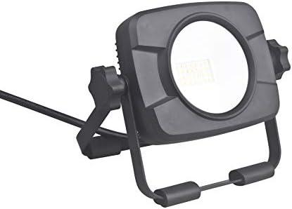 LIT-PaTH LED Work Light, Flood Light with Adjustable Scissors Stand, 13W 1000 Lumen, 5000K Daylight White, ETL Qualifed