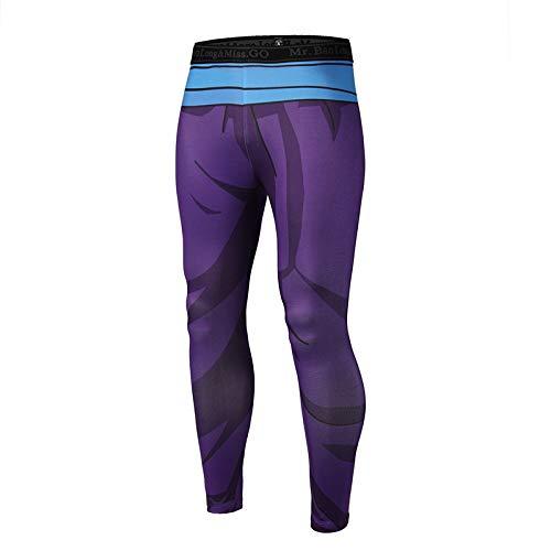 MAOYYMYJK Yoga-Hose Für Damen 3D-Druck Männer Und Frauen Selbstkultivierung Fitness Hosen Persönlichkeit Yoga Schnell Trocknende Hosen Freizeitkleidung