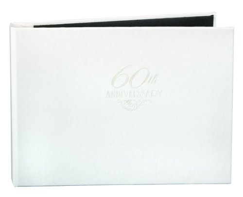 Hortense B. Hewitt 60th Anniversary Guest Book, 7.5 x 5.75-Inches ()