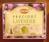 Precious Lavender – 10 Cones – HEM Incense From India