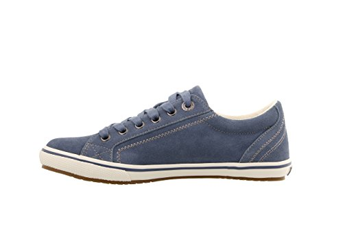 Taos Women's Retro Star Blue Suede 9.5 B (M) US by Taos Footwear (Image #2)