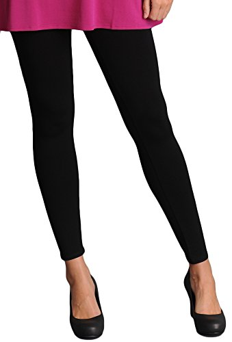 Eileen Fisher Womens Jersey Ankle Leggings Black L from Eileen Fisher