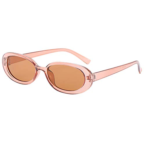 (Unisex Sun Glasses Beautyfine Fashion Small Frame Sunglasses Vintage Retro Irregular)
