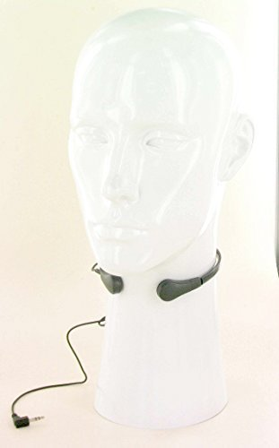 AV-JEFE TR-15 Throat Transdermal Microphone for Speech Difficulties Impaired compatible w Voice Amplifier