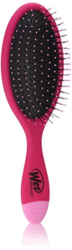 Wet Brush Pro Brush and Cleaner Combo, Red