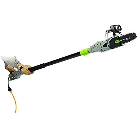 Earthwise CVPS41008 8 Inch 6 Amp Corded Electric 2 In 1 Convertible Chain Saw Pole Saw