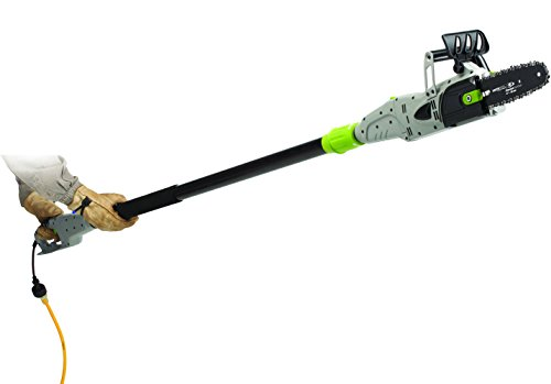 Earthwise CVPS41008 8-Inch 6-Amp Corded Electric 2-in-1 Convertible Chain Saw Pole Saw
