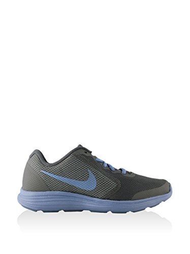 Nike 859602-003, Zapatillas de Trail Running para Mujer Gris (Cool Grey / Light Blue)