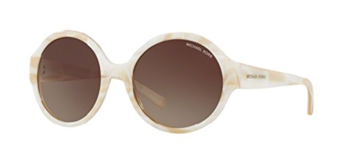Michael Kors Women's MK2035 Seaside Getaway Ivory/Smoke 320813 - Kors Sale Sunglasses Michael On