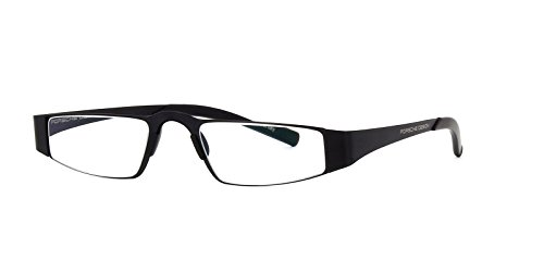 Porsche Design P8811 A Unisex Lightweight Reading Eye Glasses Eyewear Frames (Black (A), - Glasses German Reading