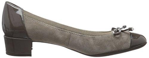 Carey Mujer A Chestnutc6103 para Zapatillas Taupe Geox Braun D 5qPwXXET
