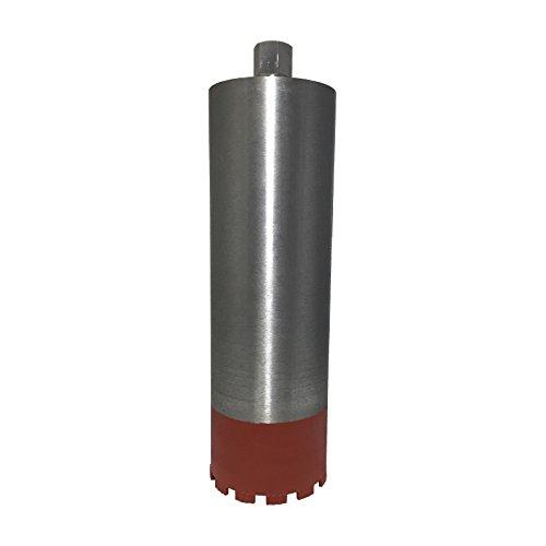 Diamantbohrkrone /Ø 102 mm 10 mm Turbosegment Diamant-Bohrkrone 400 mm Nutzl/änge