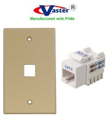cat 5 wall plate wiring diagram amazon com superecable 06164 5 pcs pack cat 6 punch down  superecable 06164 5 pcs pack