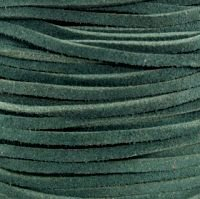 Dark Green Split Suede Lace 3MM (1/8) x 50M (54.68yds) by NTP B00GAL0QES