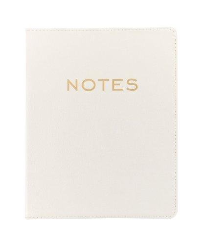 Eccolo World Traveler Desk Size Journal, Cream Notes (D505G)
