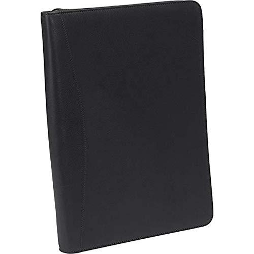 Osgoode Marley Cashmere Zip File Folio - Black