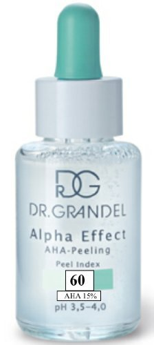 Dr. Grandel – New! Alpha Effect Peel Index 60 – 30 Ml-refines, Balances and Rejuvenates the Skin. Wrinkles and Fine Irregularities Are Reduced, the Skin Looks a Fresher and Younger- For Professional Use Only For Sale