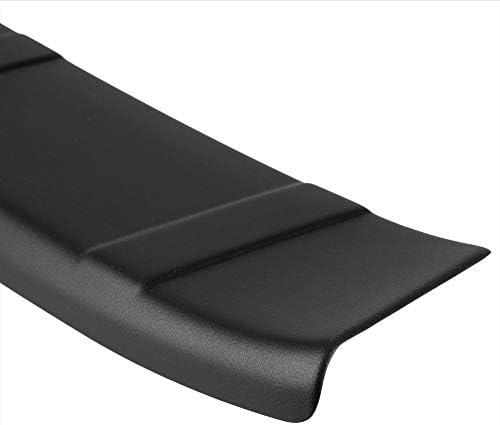 vestibilit/à ottimale Protezione per paraurti scanalata smussata Nero