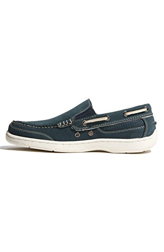 Tommy Bahama First Mate-Two Tone Shoes Navy Mens 11.5 by Tommy Bahama