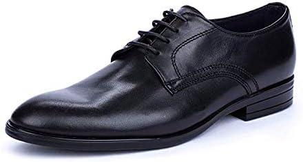 DCalderoni Mulhacén Negro Zapato Vestir De Piel con Cordones Hombre 49 EU