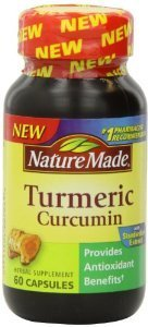 Nature Made Turmeric Curcumin 500 Milligram 60 Capsules (Pack of 2) Review