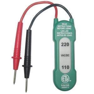 2-range Voltage Tester