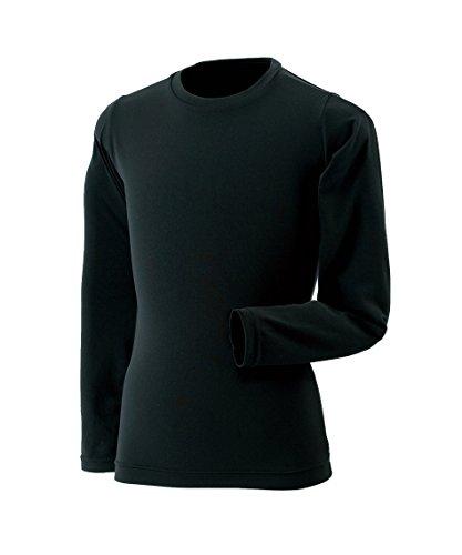 今職業入射ビジョンクエスト ジュニア アンダーウェア 長袖アンダーシャツ クルーTシャツ VQ451501G04 BK 150