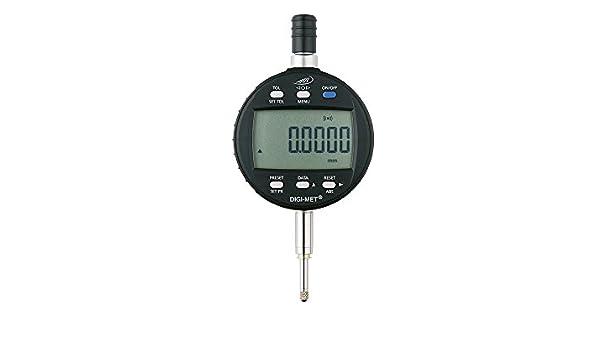 Helios de Preisser 1726i Integrated Wireless - Reloj comparador digital con radio integrada, Topográfica 0,001 mm, calibre antipinchazos (12,5 mm: ...