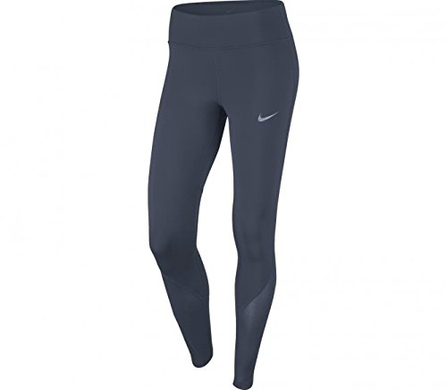 Nike Womens PWR EPIC LX TGHT MESH, THUNDER BLUE, S by NIKE