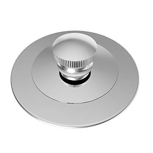 Brasstech 270/26 Lift and Turn Bath Plug, Polished Chrome