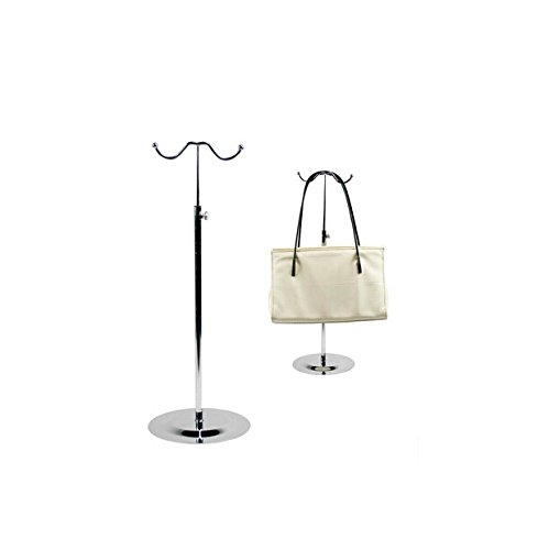 Double Hook Metal Handbag Display Rack Stand (Display Hook Stand)