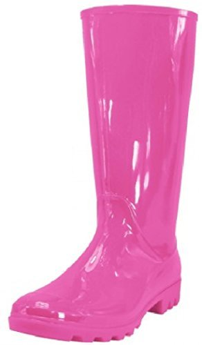 Shoes 18 Womens Classic Rain Boot (11 , Pink Rain) ()