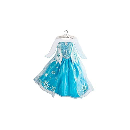 Girl Costume Party Cosplay Clothing Anna Snow Queen