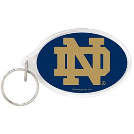 (WinCraft NCAA 77760011 Notre Dame Acrylic Carded Key Ring)
