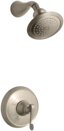 Af Revival Shower Faucet - KOHLER K-T16116-4-BV Revival Rite-Temp Pressure-Balancing Shower Faucet Trim, Vibrant Brushed Bronze
