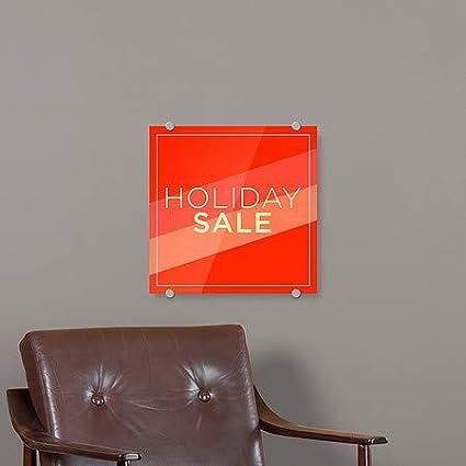 Modern Diagonal Premium Acrylic Sign CGSignLab Holiday Sale 16x16