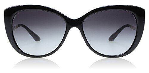 Bvlgari BV8178 901-8G Black / Gold BV8178 Cats Eyes Sunglasses Lens Category 3 (Sunglasses Bvlgari)