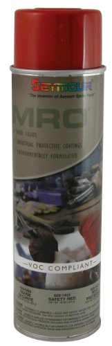 Seymour 620-1423 Industrial MRO High Solids Spray Paint, Safety Red by Seymour Paint