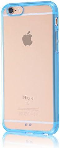 イングレム iPhone6 / iPhone6s ケース 耐衝撃 [ ストラップ ホール付] ハイブリッド素材 高透明度 ブルー